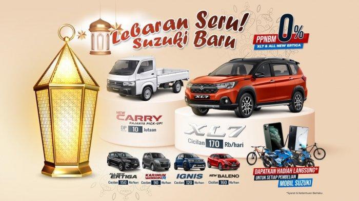 Hari Raya Lebaran, Suzuki Persada Lampungraya Tawarkan Gimik Menarik