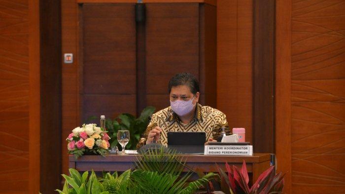 Menko Airlangga : Pertumbuhan Ekonomi Indonesia, Bergantung Pada Efektivitas Penanganan Covid-19