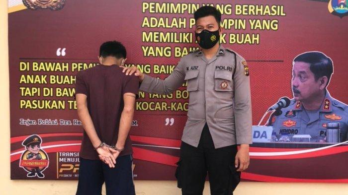 BREAKING NEWS Melawan saat Ditangkap, Pelaku Curanmor di Pringsewu Ditembak Polisi