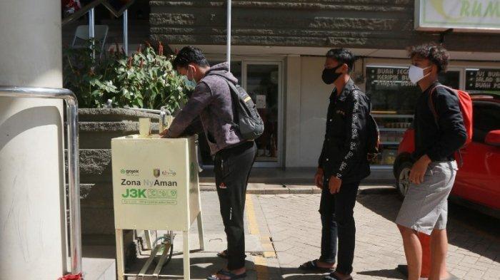 Disparekraf Lampung Apresiasi Gojek Terapkan Program J3K Hadirkan Wastafel di Ruang Publik