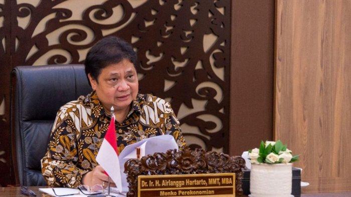Menko Airlangga : Presiden Minta Kredit UMKM Ditingkatkan hingga 30 Persen
