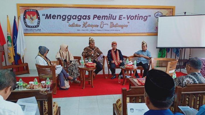 Pertama di Indonesia, Pilwakot Bandar Lampung Bakal Pakai e-Voting