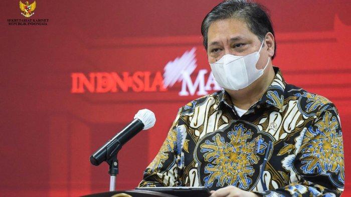 Ketua KPCPEN Airlangga Hartarto Terus Monitoring PPKM Darurat Luar Jawa - Bali