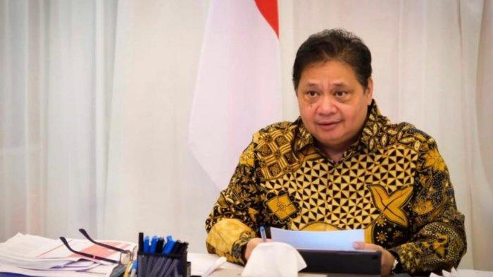 Menteri Koordinator Perekonomian  Tinjau Pelaksanaan PPKM di Lampung