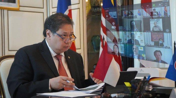 Menko Airlangga : Perkuat Solidaritas dan Kerja Sama IMT-GT Tanggulangi Dampak Pandemi Covid-19