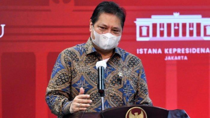 Airlangga: Dampak Pandemi terhadap Tenaga Kerja Indonesia Telah Berkurang