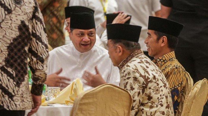 SMRC Sebut Kepercayaan Presiden Jokowi kepada Airlangga Semakin Terlihat