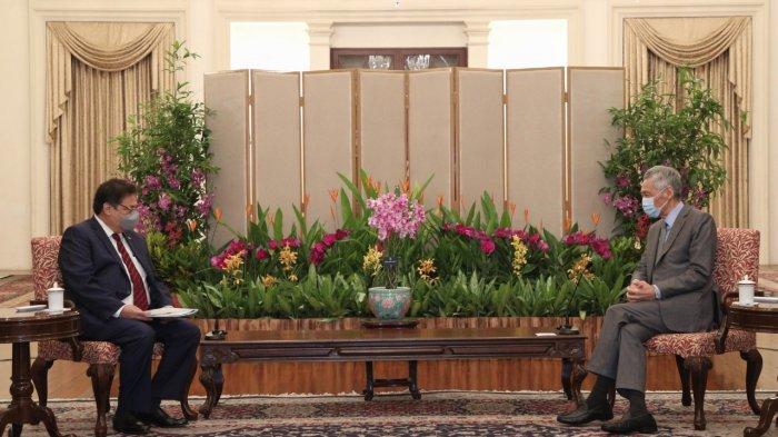 Airlangga Hartarto : Pemerintah Indonesia Apresiasi Komitmen Investasi Singapura