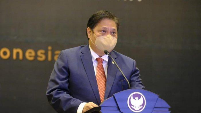 Alasan Kasus Belum Turun, Airlangga : PPKM Luar Jawa - Bali Di Perpanjang