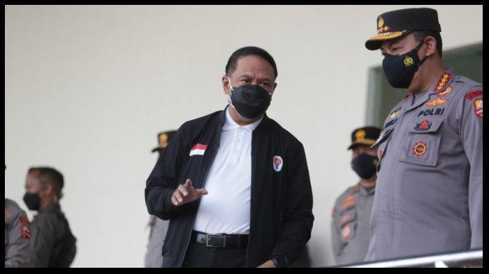 Menpora Zainudin Amali Klaim Penerapan Prokes di PON XX Papua 2021 Terkendali