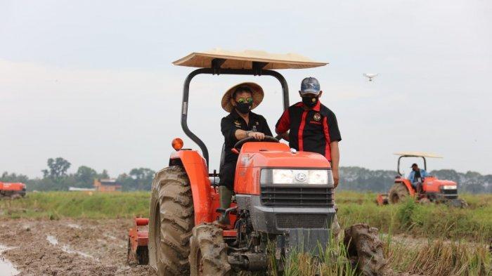 Begini Modus Warga Tulangbawang Jual 2 Traktor Bantuan Pusat Seharga Rp 240 Juta