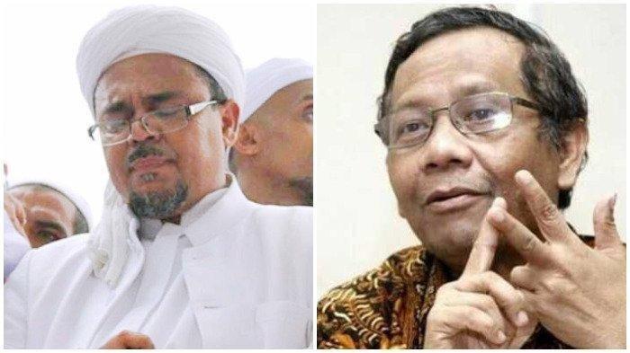 Beredar Video Hoaks Penangkapan Jaksa Terima Suap Kasus Rizieq Shihab, Begini Penjelasan Mahfud MD