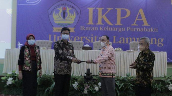 Ikatan Keluarga Purnabakti Universitas Lampung Unila Ikut Program Lansia Tangguh Nasional