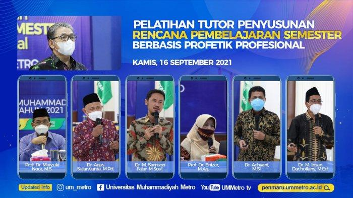 Kampus Terbaik Sumatera UM Metro Siapkan Tutor Penyusunan RPS Berbasis Profetik Profesional