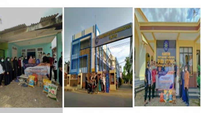 Bulan Suci Ramadhan, Himpunan Mahasiswa Akuntansi UM Metro Berikan Santunan di Panti Asuhan