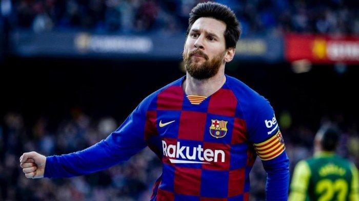 Lionel Messi mencetak empat gol saat Barcelona menggasak Eibar 5-0 dalam lanjutan Liga Spanyol di Camp Nou, Sabtu (22/2/2020) malam WIB.