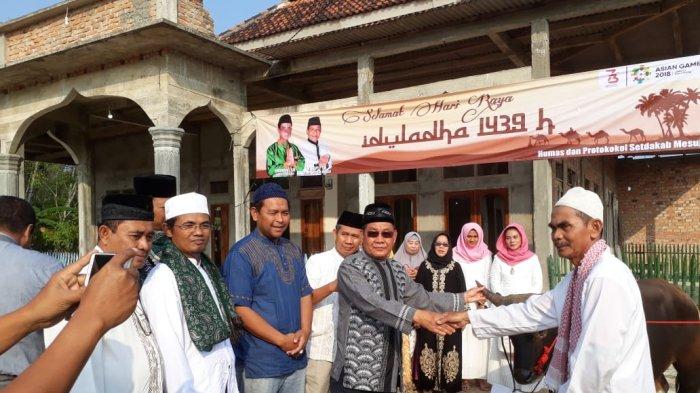 Plt Bupati Mesuji Saply Dijadwalkan Salat Idul Fitri di Desa Gedung Boga