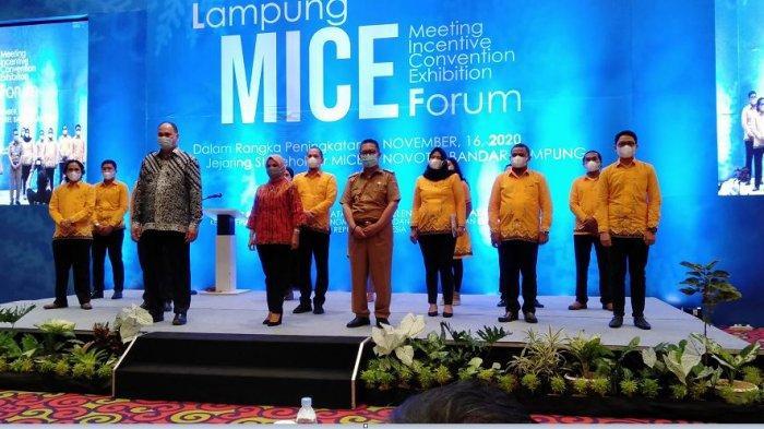 Lampung MICE Forum dan Pelantikan DPD ASPERAPI Lampung Sukses Digelar