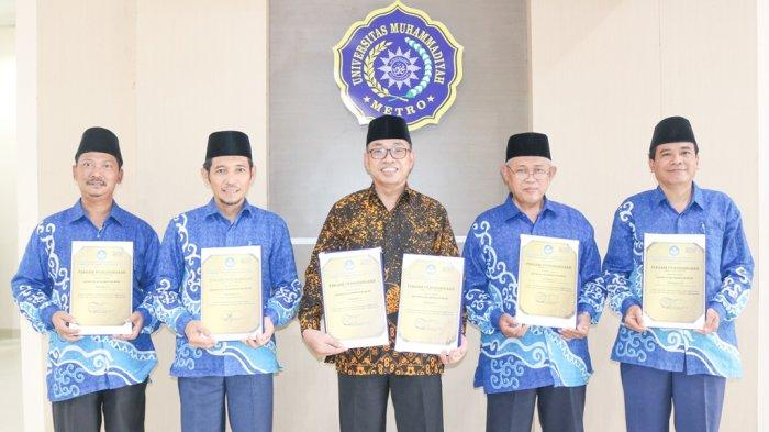 Universitas Muhammadiyah Metro Sabet 6 Penghargaan dari LLDIKTI Wilayah II