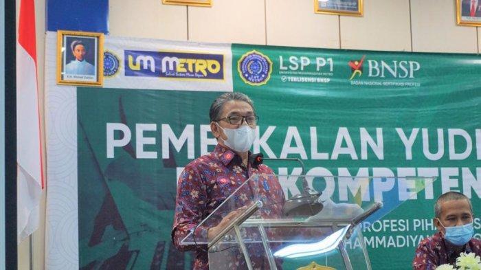 LSP Universitas Terbaik di Sumatera UM Metro Tanamkan Pentingnya SKPI Bagi Calon Wisudawan