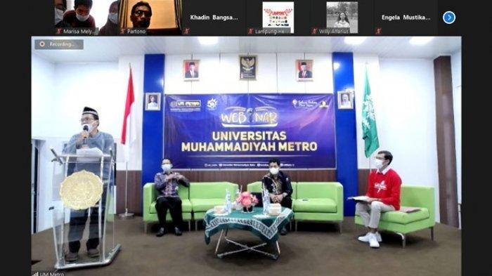 Prodi Pendidikan Sejarah UM Metro Ajak Ramaikan Kembali Riset Tentang Lampung Melalui Webinar