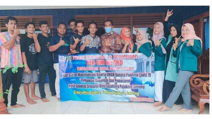 Dosen FEB UM Metro Gelar Pelatihan Online di Kampung Pujokerto