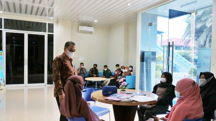 Rektor UM Metro Jazid Ahmad Sapa Calon Mahasiswa Baru