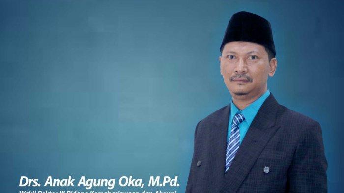 Drs Anak Agung Oka UM Metro : Signifikan Peran Mahasiswa bagi Kemajuan Perguran Tinggi
