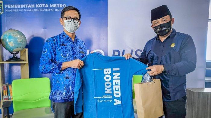 Dr Edi Ribut UM Metro Kampus Terbaik Sumatera Raih Penghargaan Penulis Buku Produktif