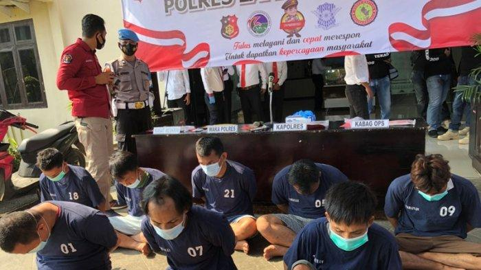 MH Tersangka Begal di Lampung Utara Sudah Beraksi di 7 TKP