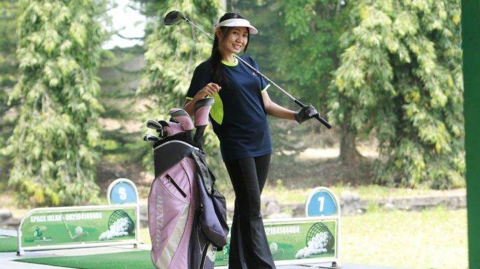 Suci Aprodity, Milenial Lampung Penyuka Olahraga Golf