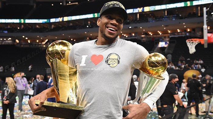 Final NBA 2021, Giannis Antetokounmpo dari Penjual Dagangan Keliling hingga Menjadi Bintang NBA