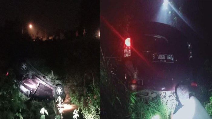 Setelah Dua Jam Minibus Tercebur Sungai Berhasil Dievakuasi