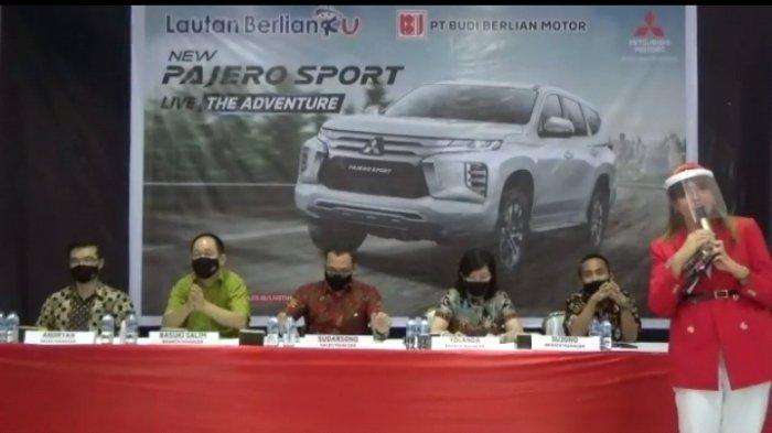 PT Mitsubishi Motors Krama Yudha Sales Indonesia (MMKSI) meluncurkan SUV teranyarnya, New Pajero Sport, Senin (22/2/2021).
