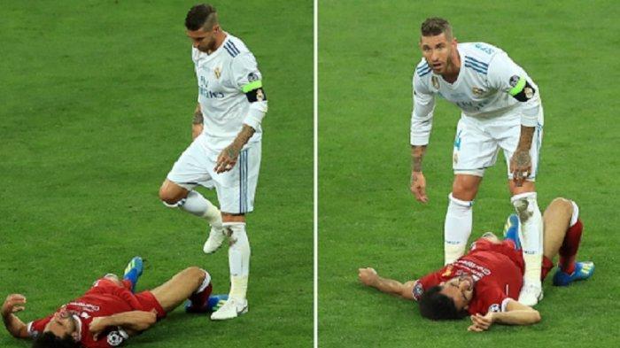 Liga Champions Real Madrid vs Liverpool, Reuni Mohamed Salah dengan 'Musuh Lama' Sergio Ramos