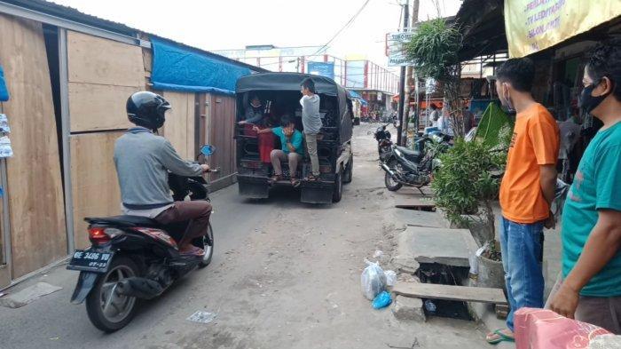 Ada TPS Pedagang, Mobil Diimbau Tidak Lewati Jalan Seputaran Pasar Talang Padang Tanggamus
