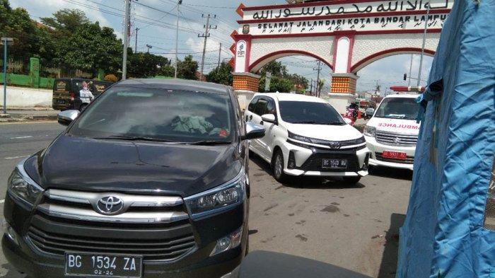 Kaget Diberhentikan saat Masuki Kota Bandar Lampung, Warga Palembang: Gak Nyangka Harus Rapid Test