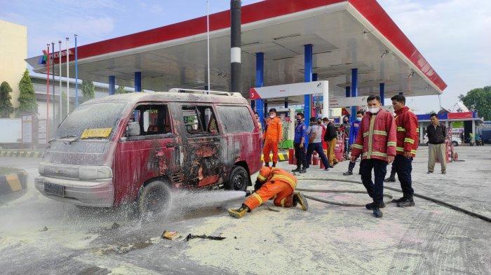 Sopir Mobil Carry yang Terbakar di SPBU Tewas, Polisi Pastikan Proses Perkara Tetap Jalan