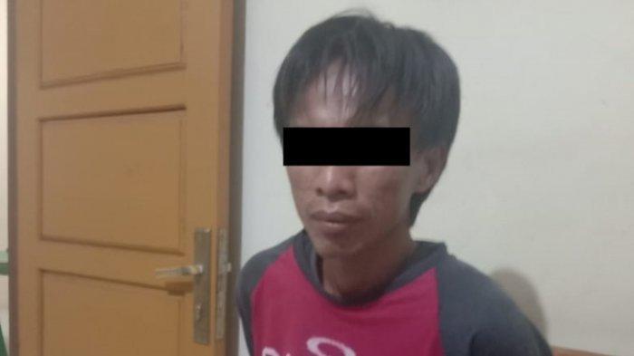 Begini Cara Penodong Gasak Uang dan Ponsel Pemilik Konter di Lampung Tengah