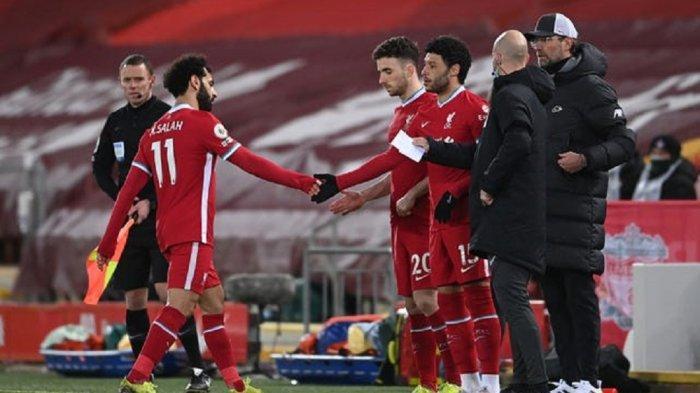 Jurgen Klopp Abaikan Reaksi Mohamed Salah Saat Diganti Ketika Liverpool Kalah dari Chelsea