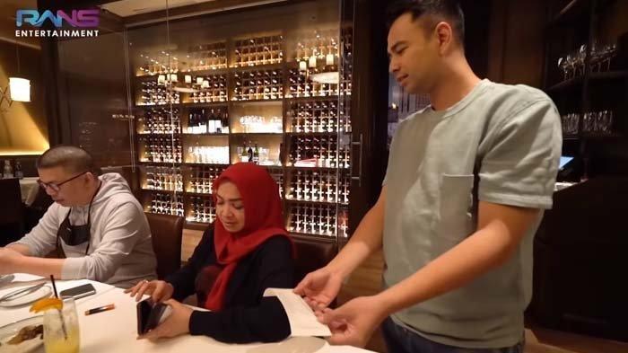 Momen Mertua Artis Raffi Ahmad Bayar Tagihan Makan 50 Karyawan Rans Entertainment di Restoran Mewah