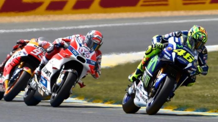 Andrea Dovizioso Curhat Rasa Muaknya pada Yamaha dan Valentino Rossi