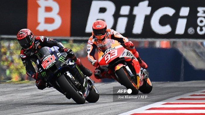 MotoGP 2021 Amerika, Marc Marquez Terkesan dengan Kecepatan Fabio Quartararo
