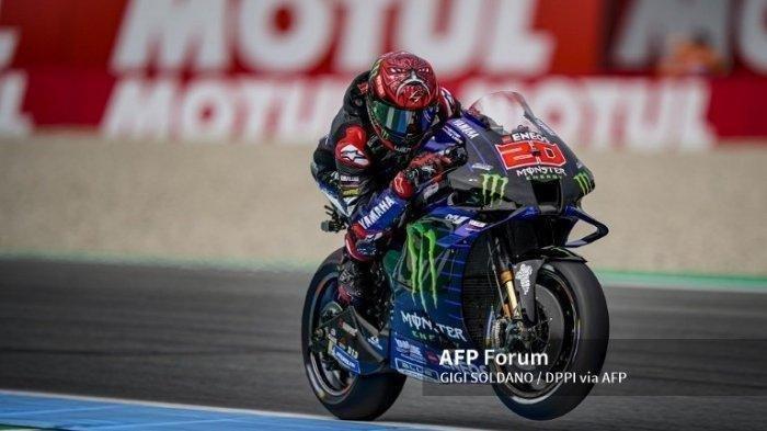 Jadwal MotoGP 2021 Aragon, Fabio Quartararo Alami Gangguan pada Latihan Bebas FP2