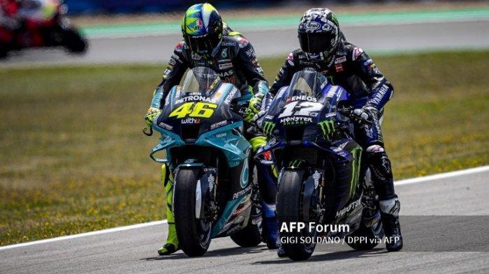 Jelang MotoGP 2021 Aragon, Vinales Beberkan Kesulitan Satu Tim dengan Rossi
