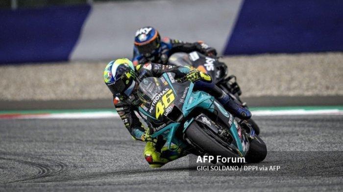 MotoGP 2021 Aragon, Valentino Rossi Dipusingkan oleh Pemilihan Ban