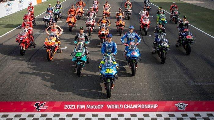 Jadwal MotoGP 2021, Menurut Jorge Martin, Rossi akan Menang jika Lintasan Basah Karena Hujan