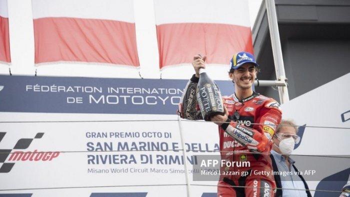 MotoGP 2021 Jepang, Bagnaia Sebut Menang di Misano Lebih Sulit dari Aragon