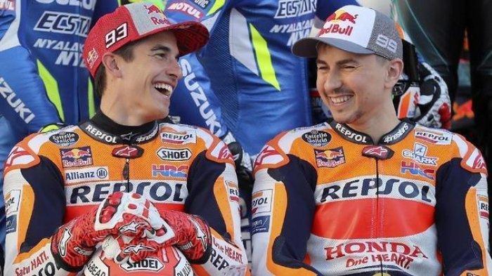 MotoGP 2021, JorgeLorenzo Sebut Marc Marquez Berasal dari Planet Lain