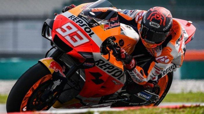 Jadwal MotoGP 2021, Catatan Waktu Marquez dalam Kombinasi Latihan Bebas Ke-2 Lebih Baik dari Vinales